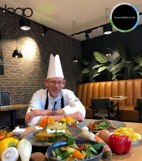 Joop Passie voor eten werkt samen met Jeroen Schilt van Yourlifecircle.fit